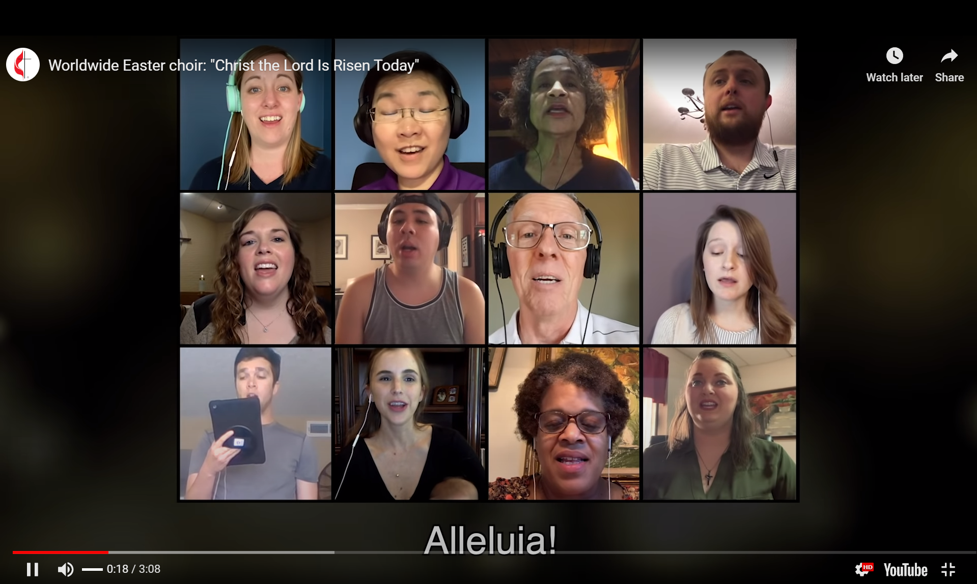 Easter Virtual Choir