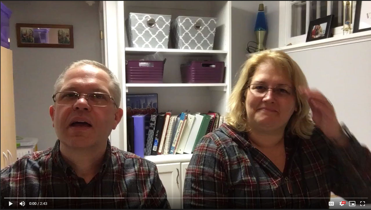 Bill and Beth, Hymns from Home